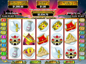 Aladdin's Wishes - Internet Slot Game
