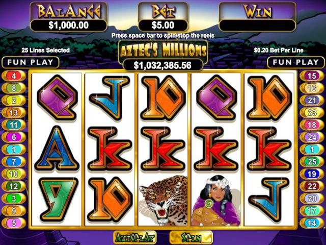 Aztec's Millions Free Slot Game