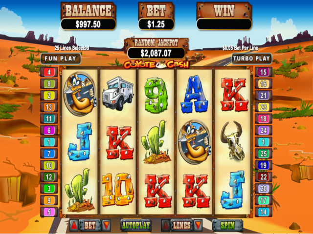 Coyote Cash Free Slot Game