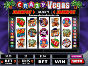 Crazy Vegas - Internet Slot Game