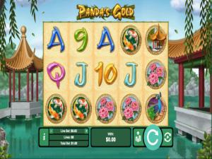 Panda Gold - Internet Slot Game