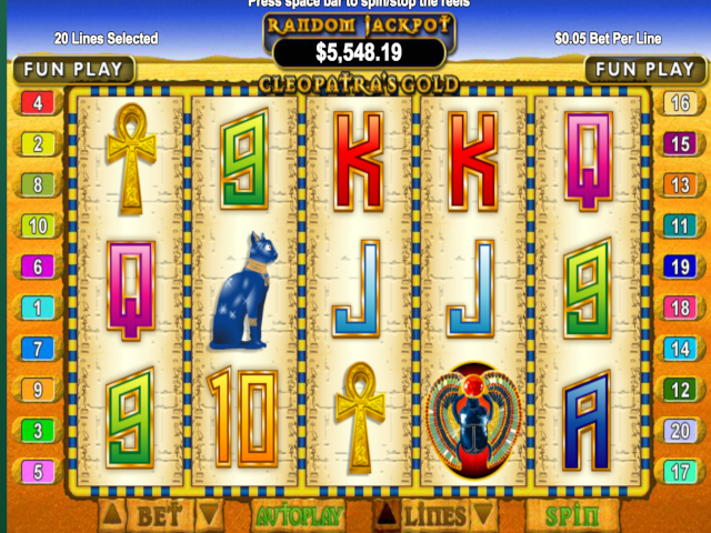 Cleopatra's Gold Free Slot Game