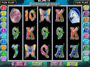 Enchanted Garden - Internet Slot Game