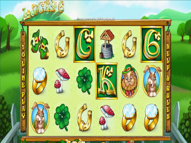 Lucky 6 Free Slot Game