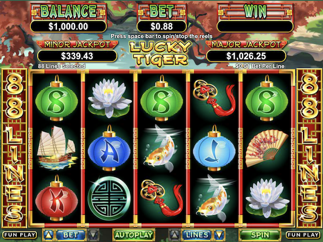 Lucky Tiger Free Slot Game
