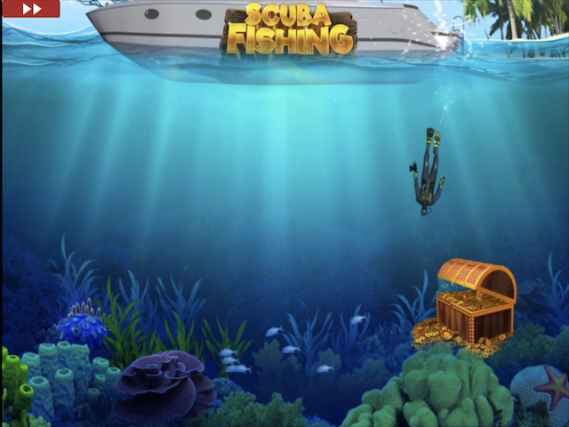 Scuba Fishing Free Slot Game