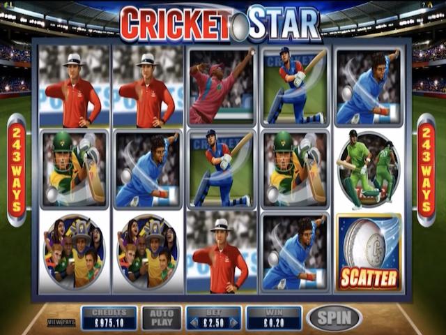 Cricket Stars Free Slot Game