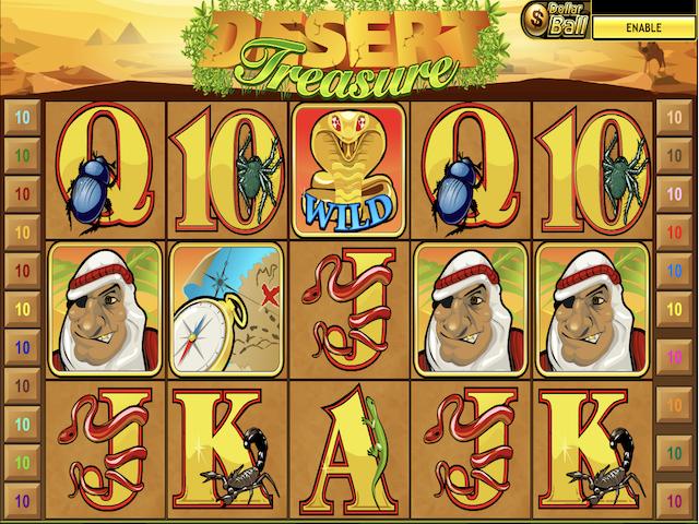 Desert Treasure Free Slot Game