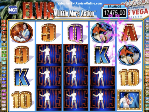 Elvis the King - Internet Slot Game