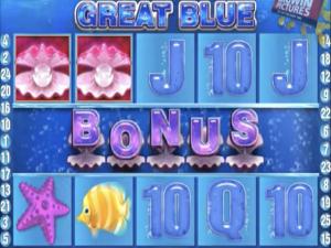 Great Blue - Internet Slot Game