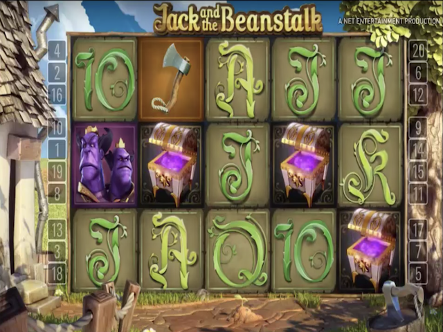 Jack and the Beanstalk Free Slot Game